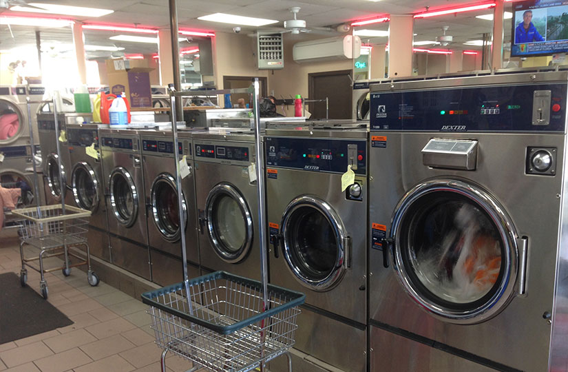 coin Laundry machines - Clean Scene Laundromat offers a coin operated laundromat.